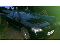 Lovely black working Astra 1.6 sxi for sale.