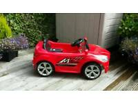 Children's Red Electric Sports Car