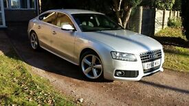 AUDI A5 2.0 TDI S Line Sportsback 5dr SHOWROOM CONDITION HIGH SPEC,