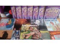 17 vinyl records