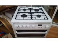 Hotpoint full gas cooker