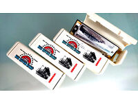 Big River Harmonicas - all unused and boxed - 4 keys A D E F