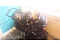Mothercare pram with car seat