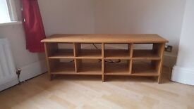 Good condition wooden pine tv unit. Collection only £20