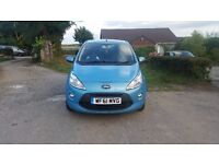 Ford Ka Zetec, 2011, 1.2, Start/Stop, low mileage, 10 month MOT, £30 tax