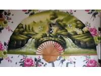 Large chinse decor fan