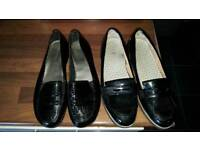 School girls shoes size 3 and 4