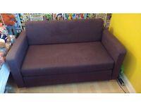 Blue Ikea Sofa Bed