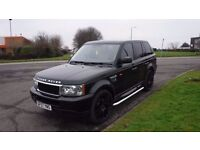 "RANGEROVER SPORT 2007 TDV6,61000mls,22""Alloys,Cream Leather,Service History,Very Clean Condition"