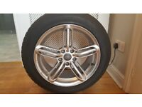 Replacement Audi TTS Alloy Wheels and Winter Tyres