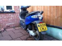 XXX SOLD SUBJECT TO COMPLETION XXX PIAGGIO FLY 50 4-t MOPED 12 MONTHS MOT