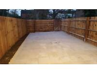 Patios and driveways