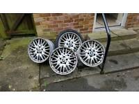 Bmw genuine mv1 wheels