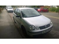 VW Polo 1.2 2005. 1 years MOT. Cheap to run and insure. £450