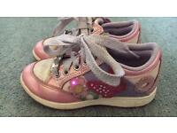Lelli Kelly girls Light Up shoes / trainers size 26(8-8.5)
