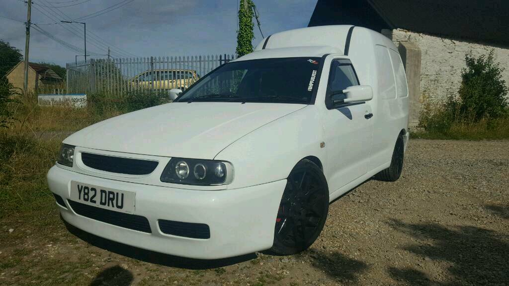 Volkswagen Vw Caddy Mk2 Lowered Modified In Weston Super