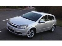 VAUXHALL ASTRA 1.6 SXI S-A AUTOMATIC SPORT SILVER 5DR MOT 2017 BARGAIN! LOOK!!