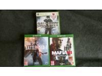 Xbox1 games bundle