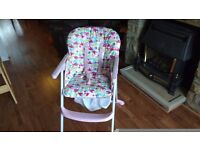 Mothercare baby high chair excellent condition
