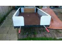 Trailer with heavy duty cover