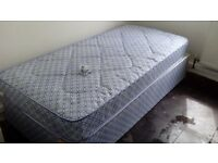 Brand new single bed and mattress. 07399214139