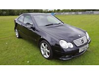 56 Plate Mercedes-Benz C Class C200 Kompressor Sport 3 Door