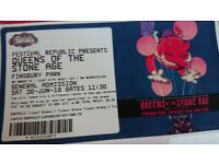 Queens of the stone age Tickets x2 30th June Finsbury P