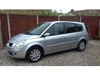 DIESEL 7 SEATER, 2008 RENAULT GRAND ESPACE 1.9 DCI, FSH, MOT MARCH, 1 P/OWNER, A/C, LOVELY CAR.