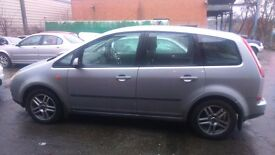 Ford C-max. Bargain. brand new clutch, oil and filters