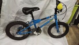 Childrens Apollo Ace boys 16 bike - would suit 5-6 year old