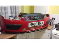 FORD FOCUS MK2 FRONT BUMPER WITH GRILLE