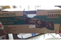 Hitachi reciprocating saw for sale excellent working order comes with blades great tool