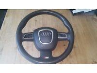 Audi A3A4 sline dsg steering wheel