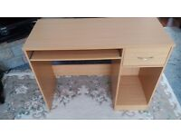 In Bristol a Study/computer desk. Excellent condition as new. Keyboard sliding drawer and PC housing