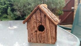 Bird houses - 3 hand made from wood