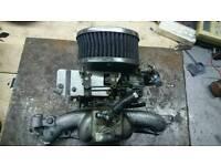Weber 32 Ford Escort mk1 mk2 K&N