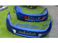 Ka Sportka bumpers full leather interior and spoiler Fiesta Alloys Great Christmas Gift