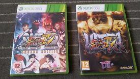 2 games Xbox 360 -Ultra Street Fighter IV -Super Street Fighter IV