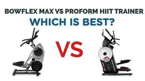 PROFORM HIIT  VS BOWFLEX HITT TRAINER ON SALE AND IN STOCK AT YOUR #1 FITNESS STORE 94 BESSEMER COURT
