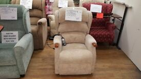 Petite Sized HSL Linton Dual Motor Riser Recliner Chair, Delivery Available