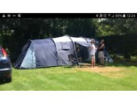 Large rectangular tent 8 birth