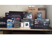 Mostly Complete X99 Gaming System ||i7-5820k||16GB||H105i||MSI SLI KRAIT||HX750i||Fractal R5