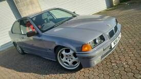 BMW 316i With M50 2.5 Conversion. Drift Ready!
