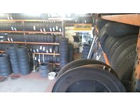 "Part worn tyres inc fitting 13""14""15""16""17""18""19""20""21""22"""