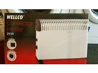 Wellco brand new heater 2years warranty fully working