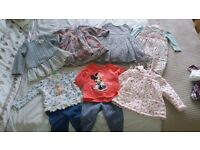 Bundle of gorgeous baby girl clothes 6-9 months inc Next & Mothercare