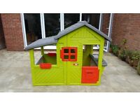 Smoby Floralie Playhouse in excellent condition
