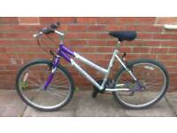 Ladies universal mountain bike 19 inch frame, good condition and ready to ride