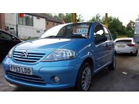 CITROEN C3 SX 1 .4 PETROL 5 DOOR H/BACK 53 PLATE FSH TESTED TILL JUNE 2016