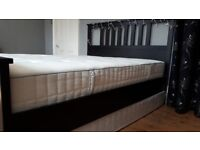 IKEA Standard King bed frame HEMNES 211 x 164 cm